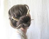 Hair Sticks Deer Antler Horn Bone Kanzashi Long Hair Accessory