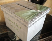 Personalized Wedding Card Box, Money Holder, Gift Card Box, Boxes, Reception Card Box, Custom Made
