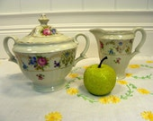 Cream and Sugar Bowl Set - Epiag  Porcelain