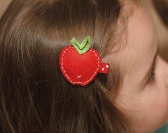 Apple Hair Clip - Meet Miss Andi
