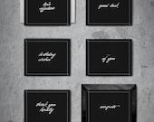 The Gentleman Collection - Brise Noir Stationery Set