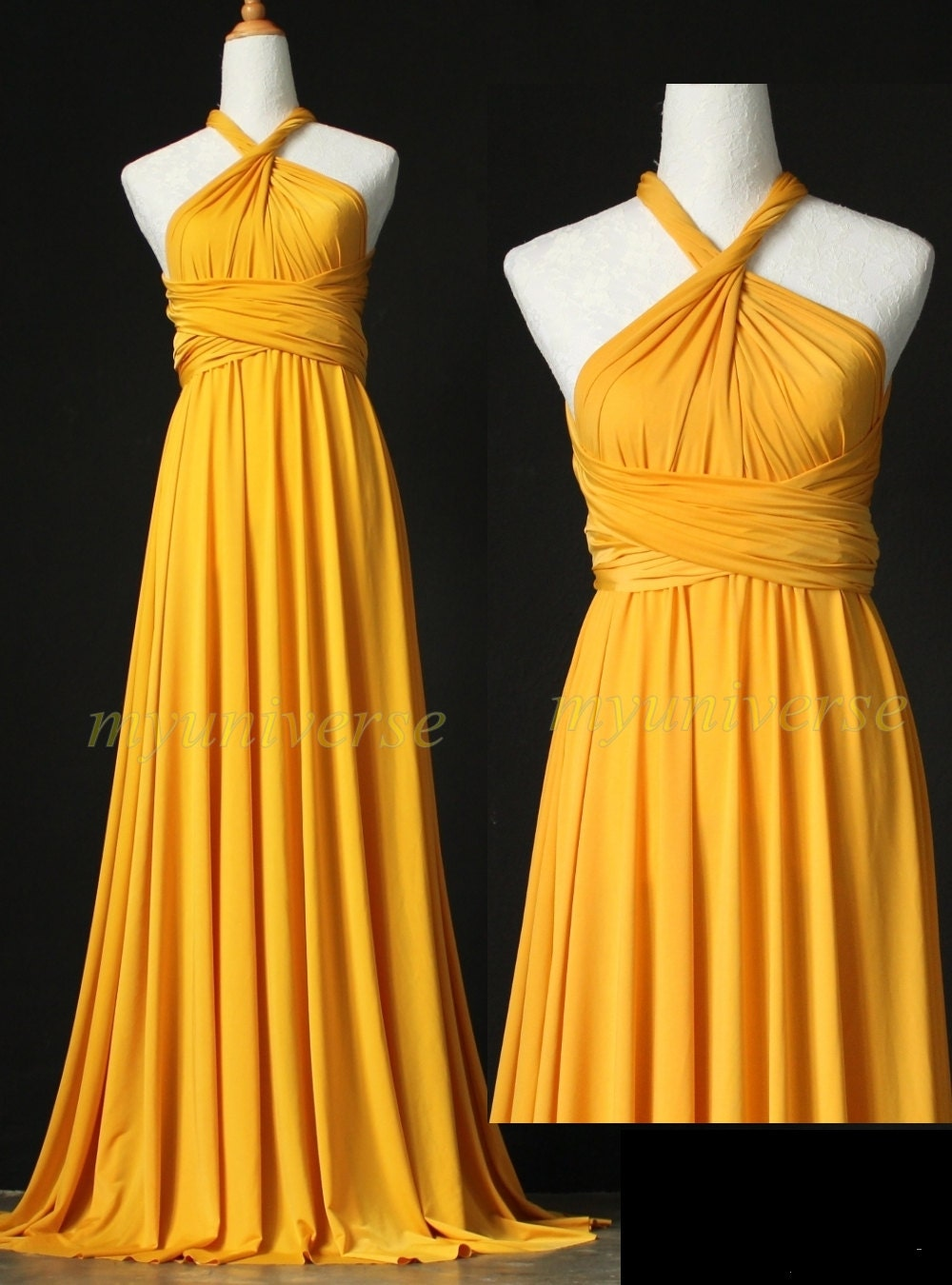 Wedding infinity maxi dress wrap convertible dress bridesmaid for Formal dress to wear to wedding