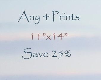 "25% Off - Select any Four 11""x14"" fine art horse prints - photographs - horse Art"