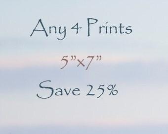 "25% Off Any Four 5""x7"" Fine Art Horse Prints, photographs"