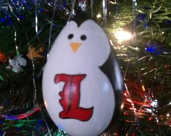 University of Louisville Penguin Gourd Ornament
