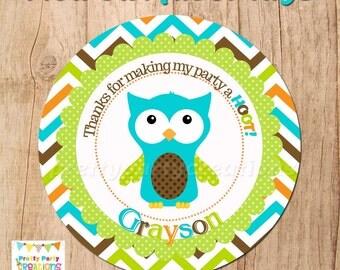 MOD OWL favor tags