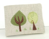 Trees Hand Embroidery Applique PDF Pattern