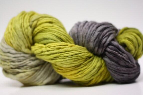 Thick and Thin Merino Yarn Slub Hand Dyed TTS 44tts12002 Stripey 8