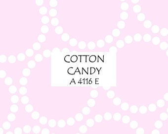 Half Yard Cotton Candy Pearl Bracelet, Lizzy House for Andover Fabrics, 100% Cotton Fabric, A 4116 E
