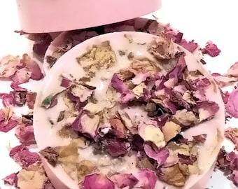 Sweet Rose Soap - Shea Butter Handmade Gift Soap - VEGAN