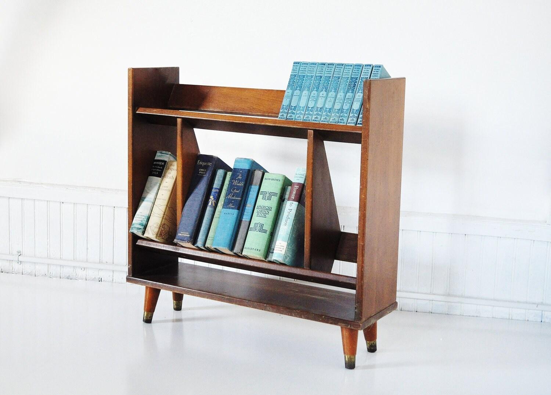 mid century bookshelf by thewhitepepper on etsy. Black Bedroom Furniture Sets. Home Design Ideas