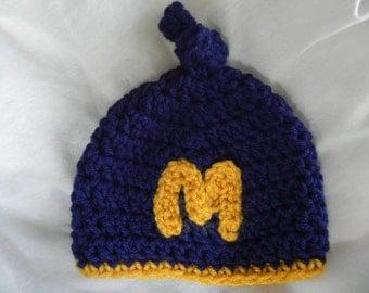 Newborn  Michigan Hat