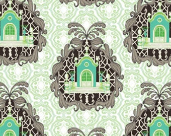 Homestead by Tina Givens in Lime - 1 yard - SALE