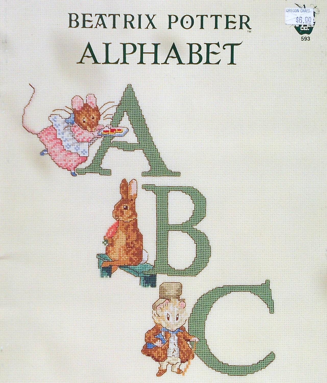 Beatrix Potter Wall Mural Beatrix Potter Peter Rabbit Alphabet Abcs Counted Cross