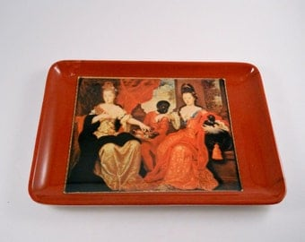 Unique  Change Tray Interesting Victorian picture