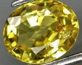 Natural Yellow Sapphire - 1 Piece (023)