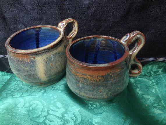 Blue Stripes - Mugs