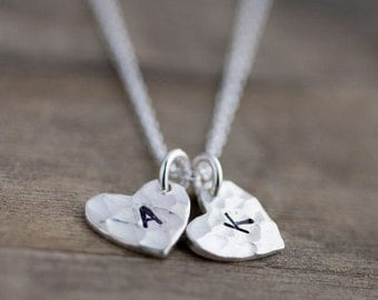 Heart Mommy Necklace, Personalized Mom, Jewelry for Grandma, Gifts for Mom, Mom Gift, Mother from Daughter Gift, Initial Necklace