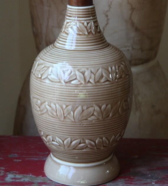 1960's Mid Century Modern Danish Ceramic Lamp