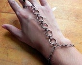 Gunmetal Adjustable Slave Bracelet