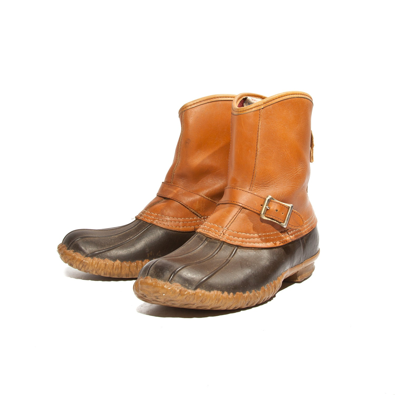 Men S L L Bean Lounger Boots Strap And Buckle Bean Boots