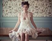 Custom Made Gorgeous Halter Neck Babydoll Dress