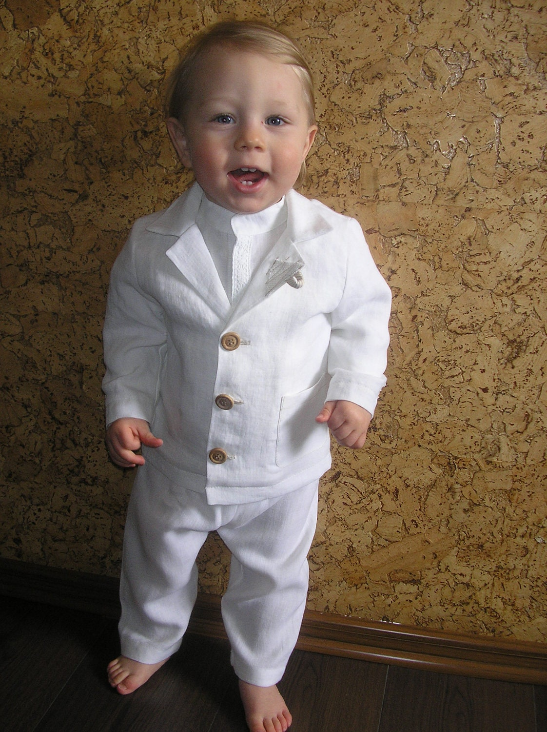 Boys Suit For Baptism Or Christening Fab By