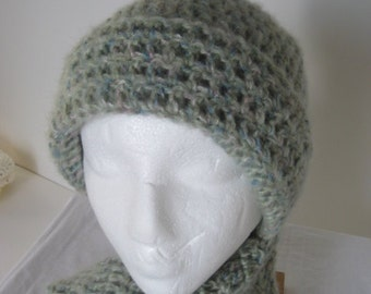 Mint Green Multicolor Hat - 2307