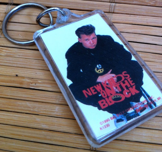 NKOTB - Donnie Wahlberg Keychain - 1990 New Kids on the Block - Boy Band