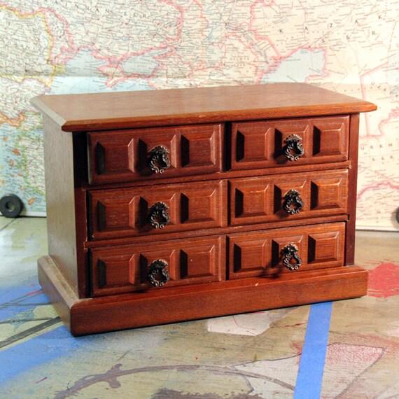 Vintage Music Jewelry Box