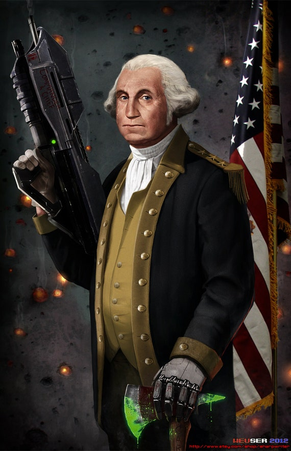George Washington The Original Master Chief *various sizes available*