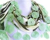 chiffon, Special Fashion Lace Shawl, wedding, bride, Scarf ,2012 Spring Fashion, Traditional Turkish-style