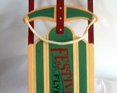 Festive Flyer Decorative Sled          New Low Price - birdsnestshop