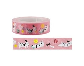 Dog Washi Tape (15M)