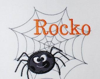 INSTANT DOWNLOAD, Machine Applique Design, Spider Web