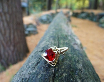 The L.O.Z.® Goron's Ruby Ring