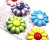 DIY Soap Making Kit Flowers - Everything You Need  - Children, Adults, Teens Decorative Soap