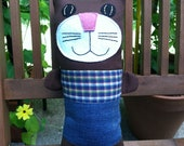 Tom Cat- Plaid & Denim
