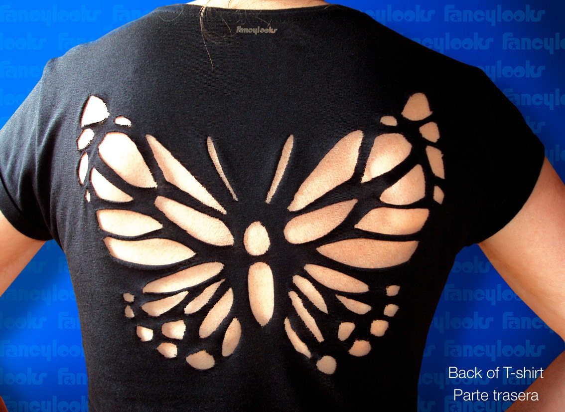 Butterfly wing cut out patterns