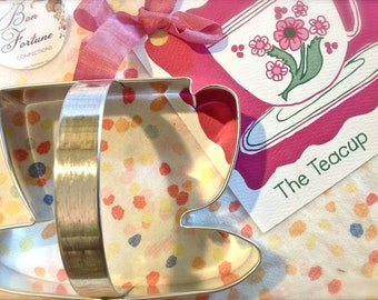 Tea Party Tea Cup Cookie Cutter