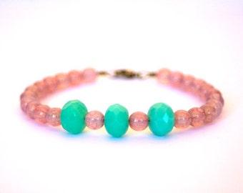 Czech Glass Beads beaded Bracelet