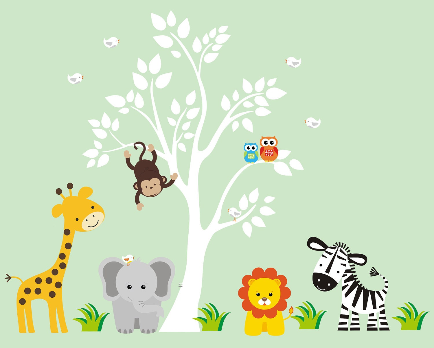 Animal Pictures For Nursery