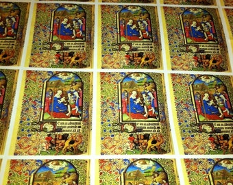 Illuminated Manuscript Wrapping Paper/Giftwrap
