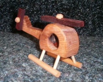 MASH Helicopter Wooden Handcrafted
