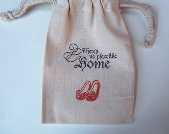 There's No Place Like Home /  Tin Man / Lion / Dorothy/ Wizard of Oz Party Favor Bags / Set of 200
