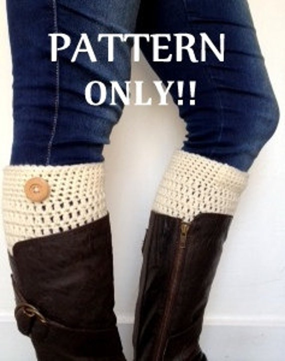 Love2bloom: A Peek of Cozy: Boot Cuff Pattern