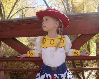 Jessie Cowgirl Costume, Toy Story, Dress