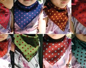 TWO SMALL SIZE bibs