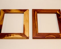 Reclaimed Red Cedar Photo or Art Frames