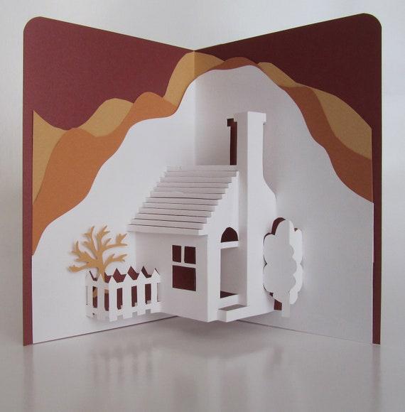 home pop up karte 3d haus dekor origamic architektur von boldfolds. Black Bedroom Furniture Sets. Home Design Ideas